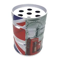 Пепельница металлическая бочка LONDON