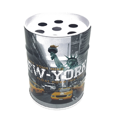 Пепельница металлическая бочка NEW YORK