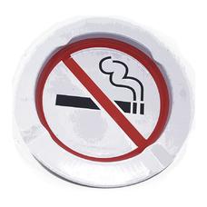 Пепельница металлическая на 4 сигареты No Smoking