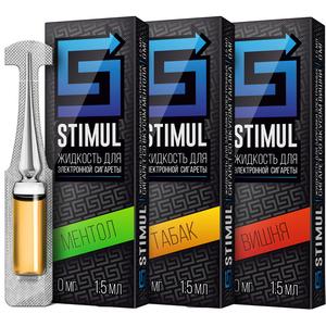 ЖИДКОСТЬ STIMUL, 70 VG/30 PG, 1,5 мл.