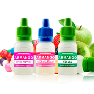 Жидкость ARMANGO VG35/PG65, 10 мл (47 вкусов)