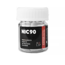 NIC 90 (5 шт.) 90 мг/мл 1 мл. (делает 3 из 30 мл.)