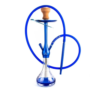 Кальян Neo Lux V2L синего цвета