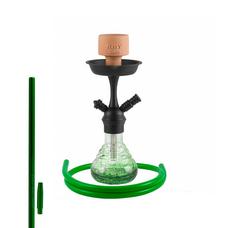 Amy Crazy Dots черная / зеленая (38 см.)
