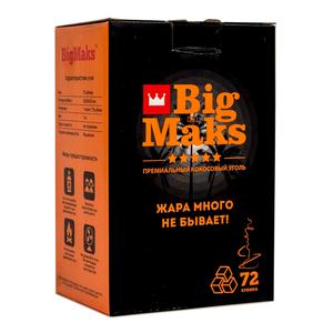 Уголь BIG MAKS 1кг. (72 шт.)