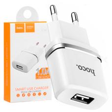 ВИЛКА ЗАРЯДНИК USB HOCO C11 (1.0A)