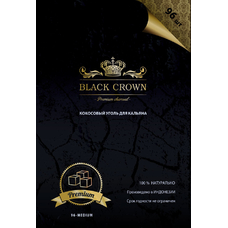 Уголь BLACK CROWN 96 шт. 1кг.